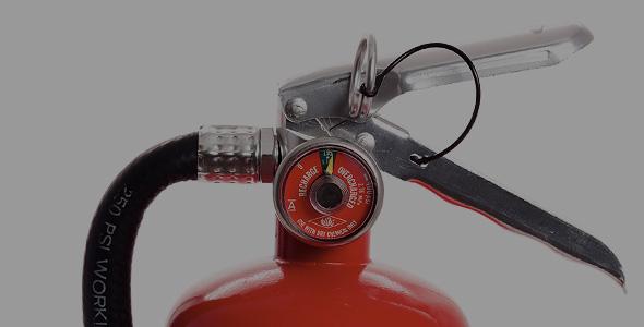 tűzoltó készülék karbantartás - poroltó